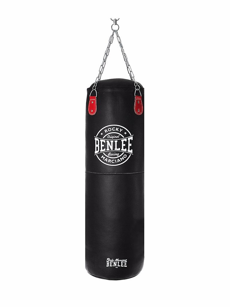Benlee Leather Boxing Bag Martino 150cm Black