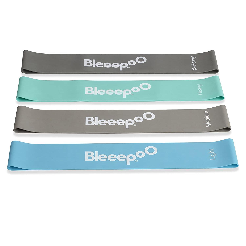 Bleeep Resistance Loop Band - Pack of 4