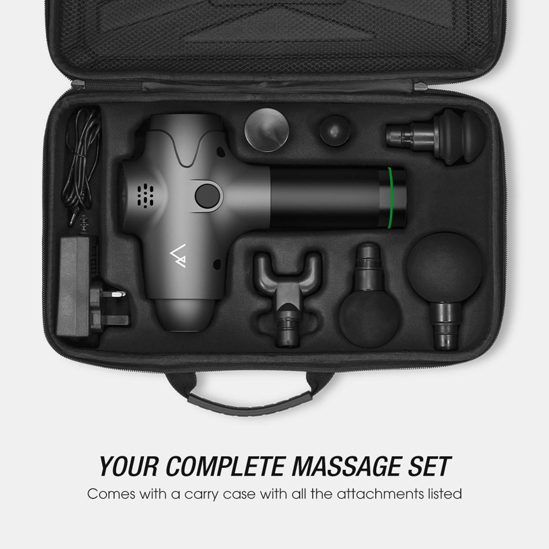 Terra Hiker Deep Tissue Massage Gun - High Torque Brushless Motor