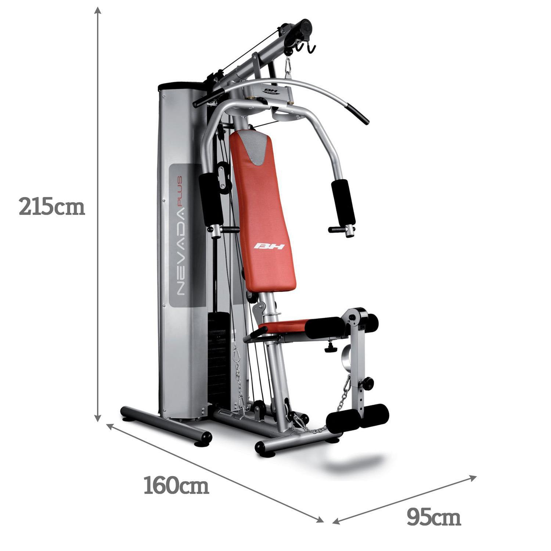 BH Fitness Nevada Pro Titanium Foldable Multi Gym