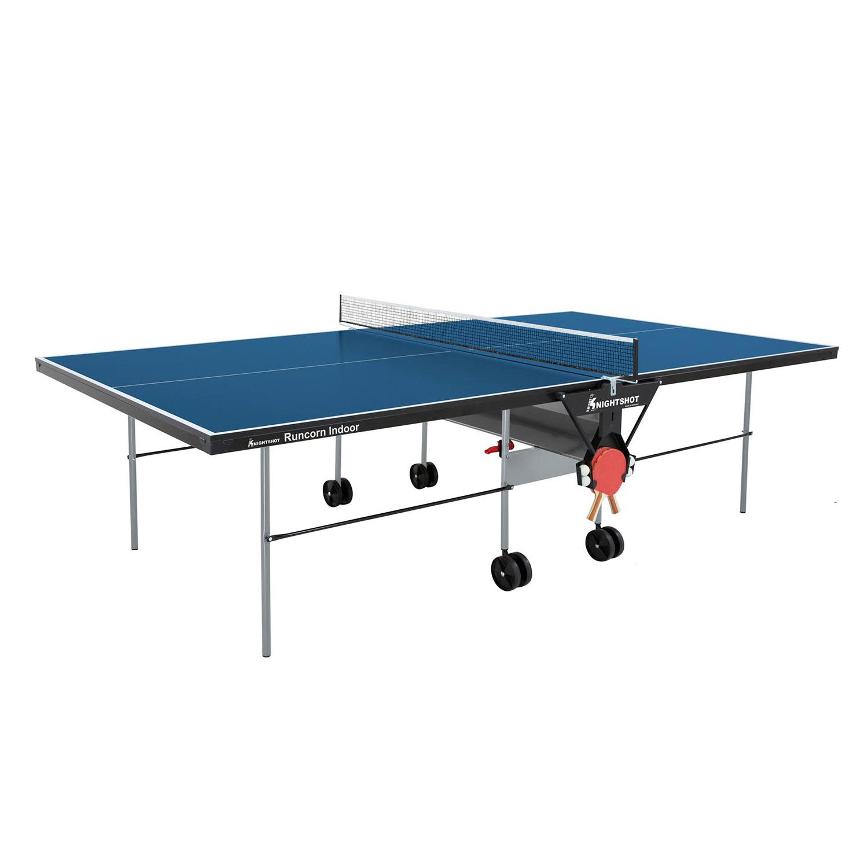 Knightshot Runcorn Table Tennis Indoor- 16Mm Blue With Net