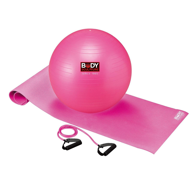 Body Sculpture Yoga Set Plus Pink
