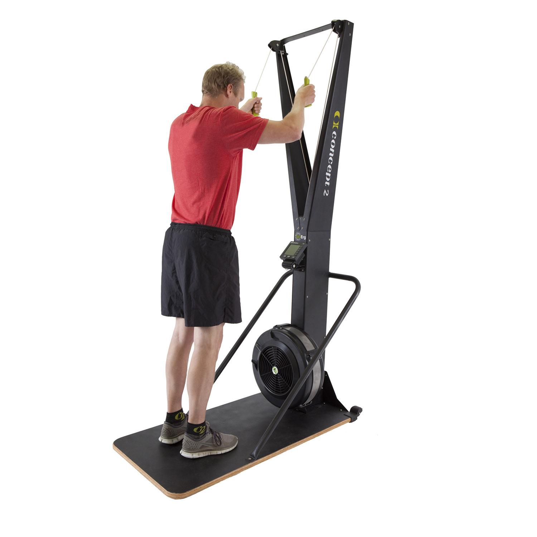 Concept 2 SkiErg Indoor Rower With PM5 & Floor Stand