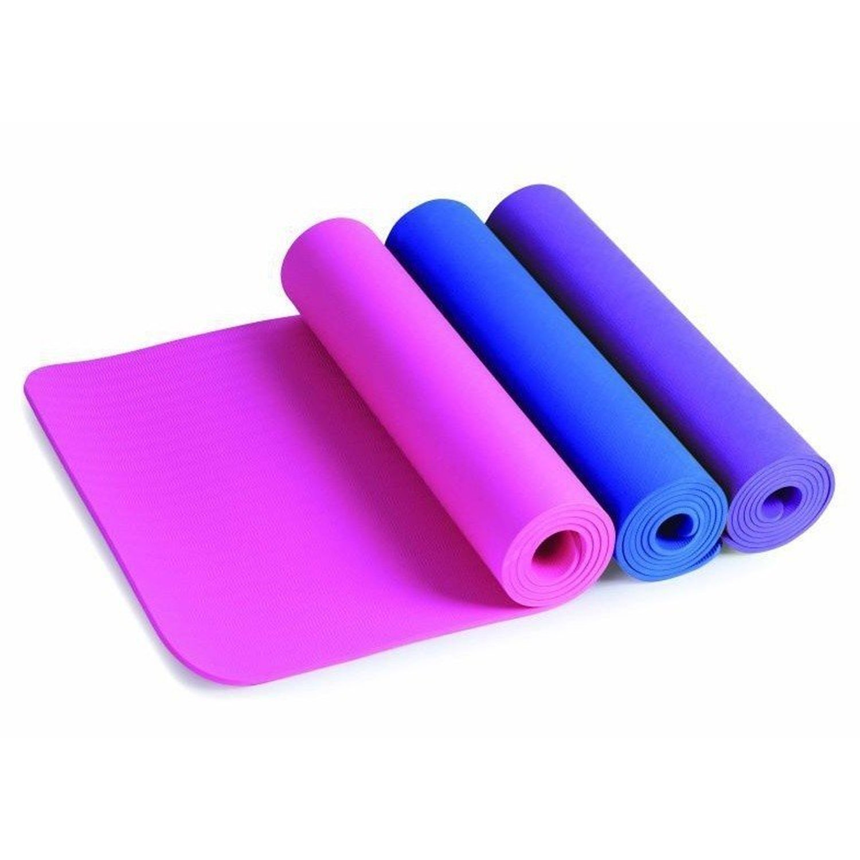 Winmax 10MM Natural Rubber Per Yoga Mat - Pink