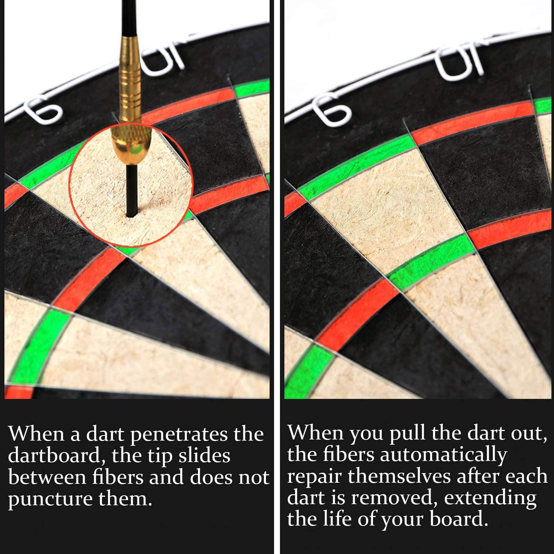 Winmax Match Play Bristle Dartboard Steel Tip Dart