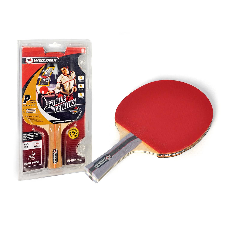 Winmax 6 Stars Single Table Tennis Racket