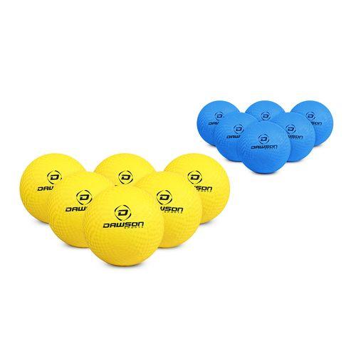 Dawson Sports Soft Rubber Dodgeballs (Set of 12)