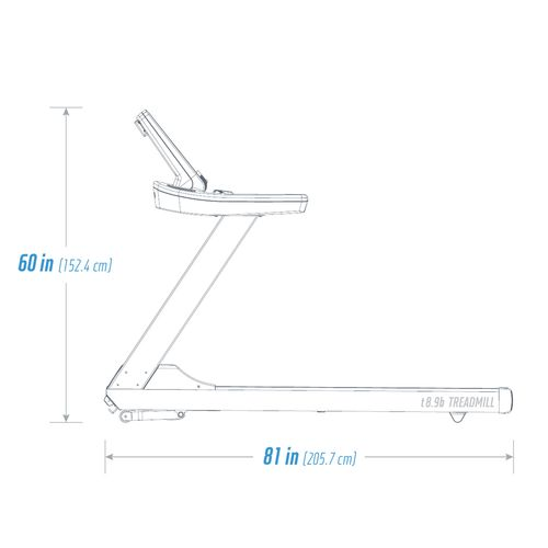 NordicTrack T8.9B Commercial Treadmill