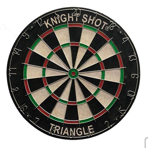 Knightshot Bristle Dartboard - Metal Triangle Wire