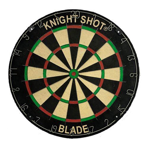 Knightshot Bristle Dartboard Africa Jute - Stainless Wire
