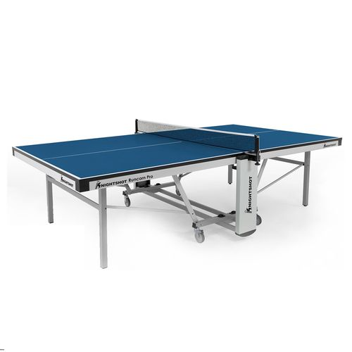 Knightshot Runcorn Pro Table Tennis Indoor 25Mm-Blue With Net