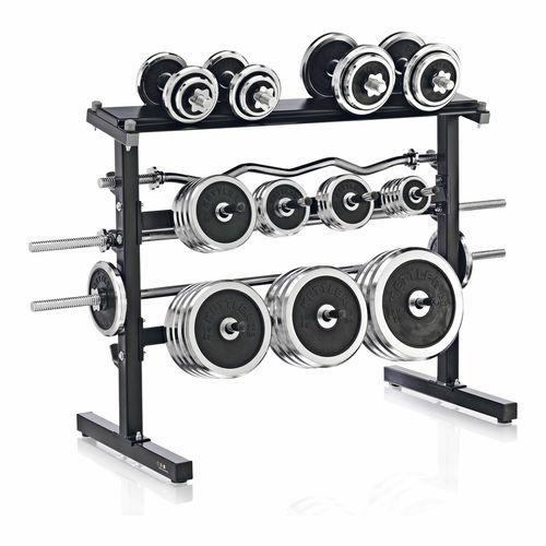 Kettler Weight Bar And Disc Stand
