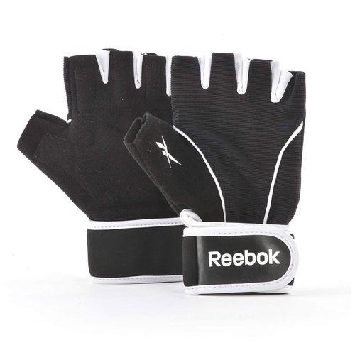 Reebok Fitness Training Gloves-Black | White-M