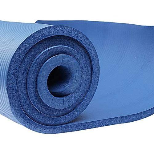 Body Sculpture Yoga Exercise Camping Mat Blue