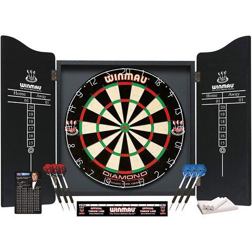 Winmau 5003 Professional Complete Dart Set With Diamond Dartboard