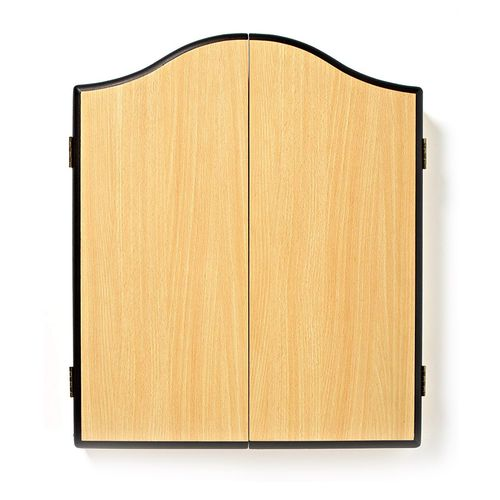 Winmau Plain Beech Design Dartboard Cabinet
